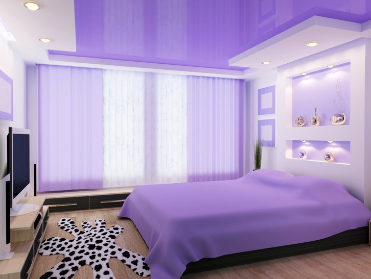 Ideas To Design A Purple Color Room