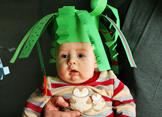 witty and funky christmas hats ideas