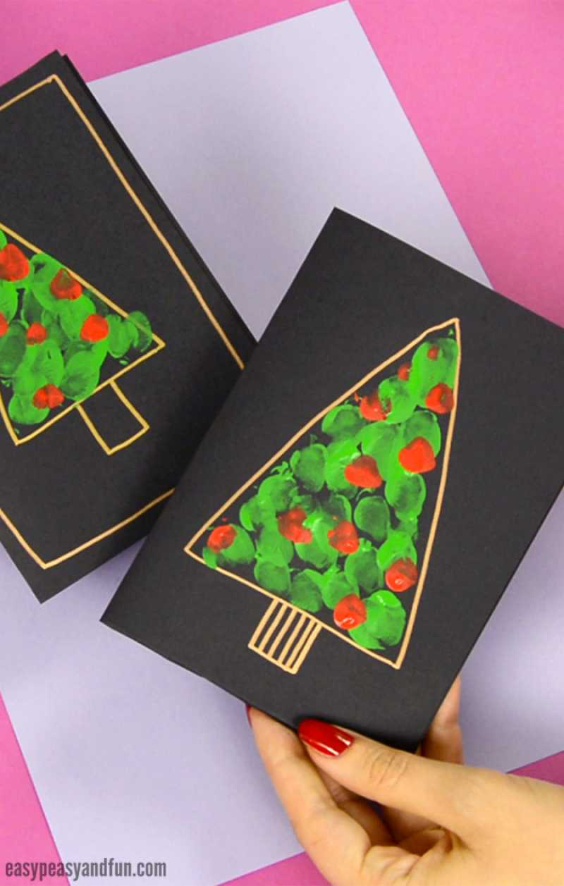15 Easy Diy Christmas Card Ideas That Ll Be Ready In No Time Hike
