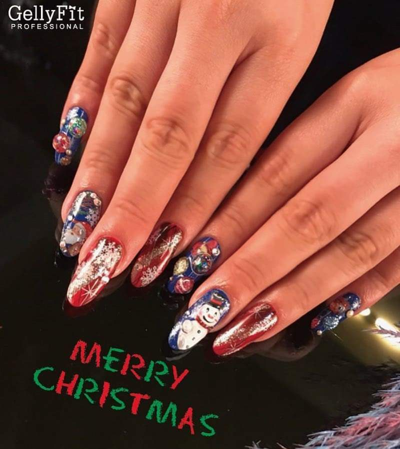 Best Christmas Gel Nails: Best Christmas Nail Art Designs/Ideas And Inspirations To