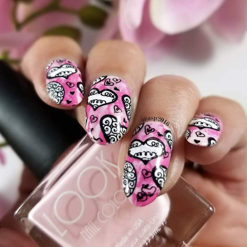 Irresistible Valentines Day Nail Art Designs Ideas Inspiration For