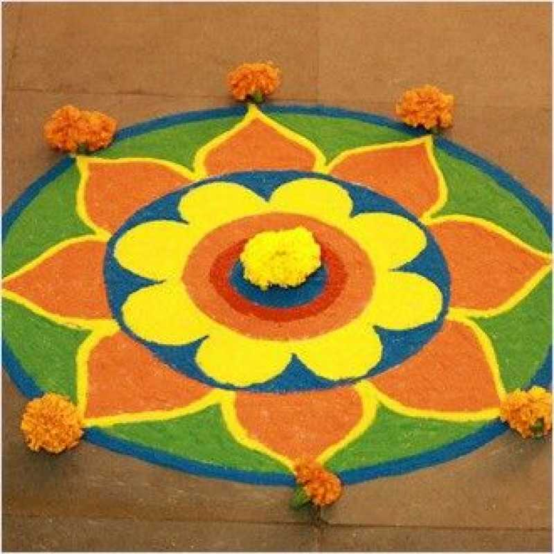Quick And Easy Rangoli Ideas For Diwali 2019 You Would Love