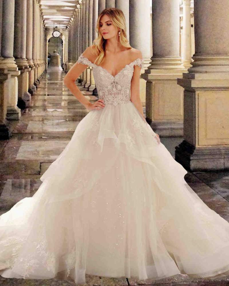 Anna Campbell 2019 Wedding Dresses: Off The Shoulder Wedding Gown Ideas