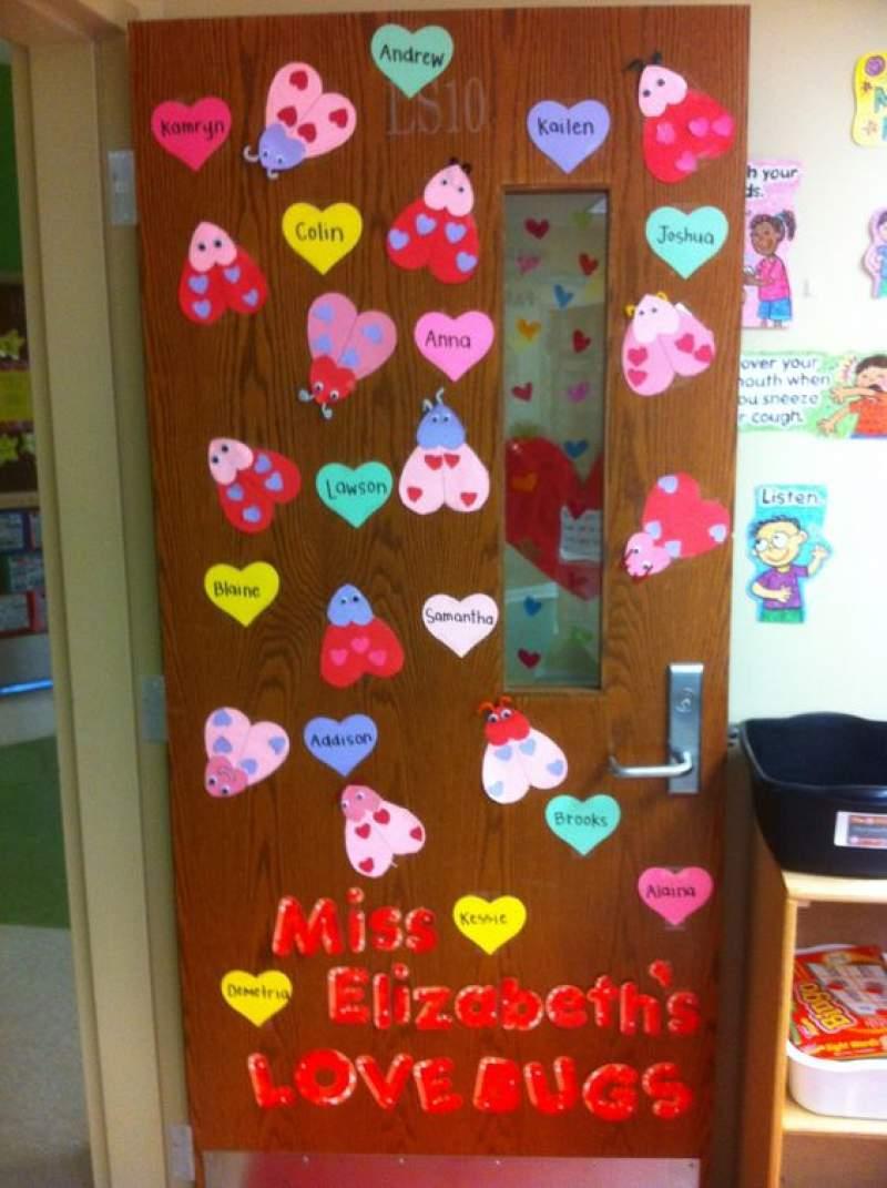 Valentine Door Decorations Ideas To Spread The Seasons Greetings
