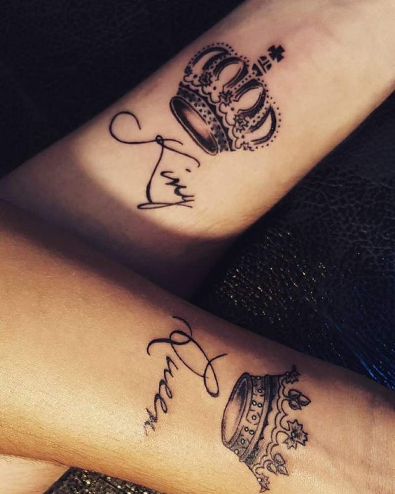 Matching Couples Tattoos For Valentines Day 2019 Inspo Because