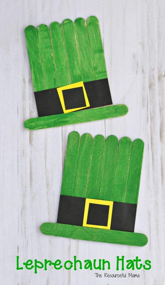 15 Easy St Patrick S Day Crafts For Preschoolers In 2020 Hike N Dip