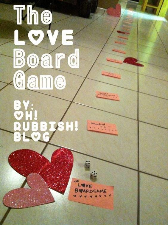 Valentijnsdag spellen