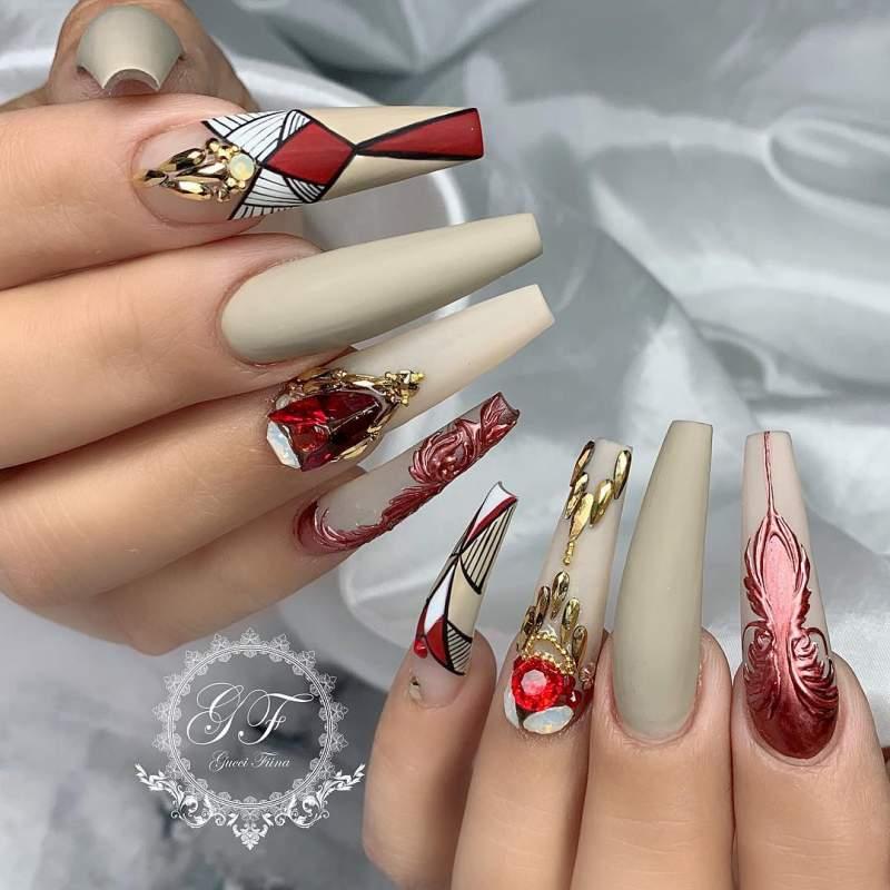Ballerina Nails Thats Elegant And Effortles Hike N Dip