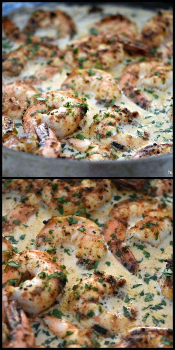 Chipotle Shrimp in Parmesan Sauce