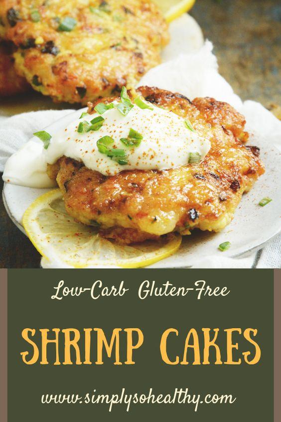 Keto Shrimp Cakes