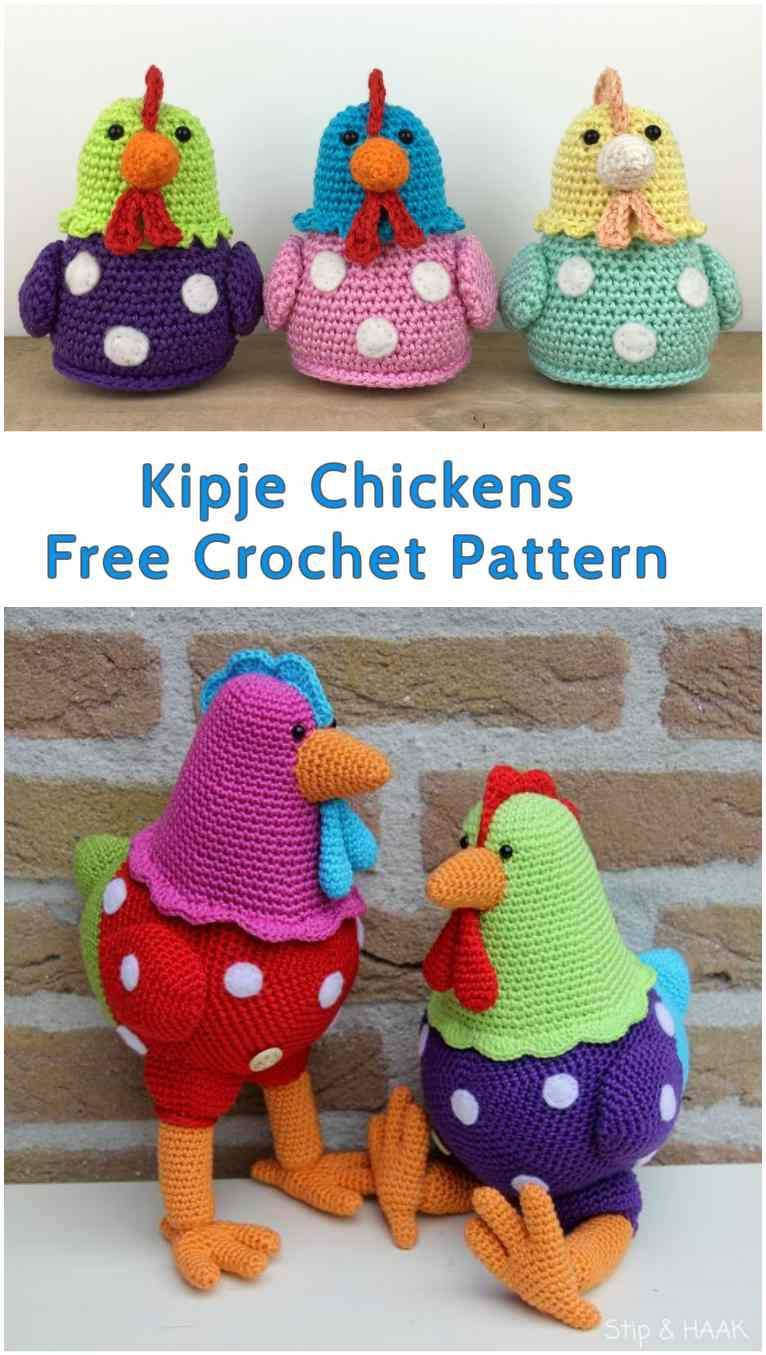 Easter chick amigurumi: free pattern   Amiguroom Toys   1355x766