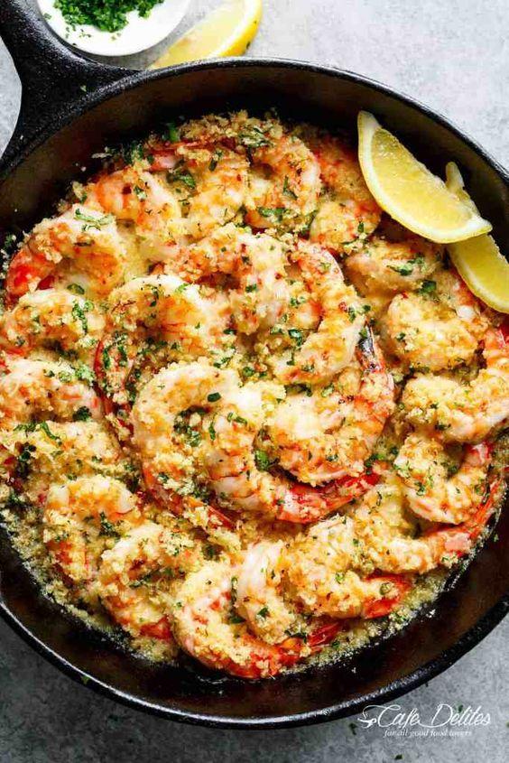 Oven Baked Shrimps