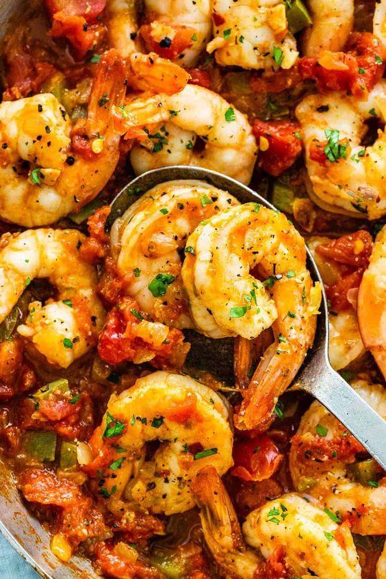 Shrimp diablo
