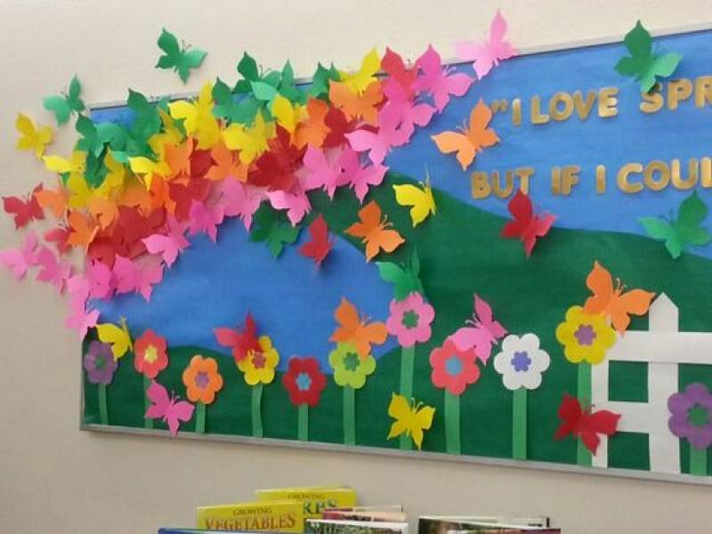 15 March Bulletin Board Ideas for Spring Classroom ...