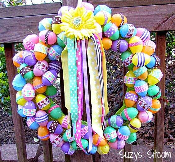 DIY Easter Wreaths