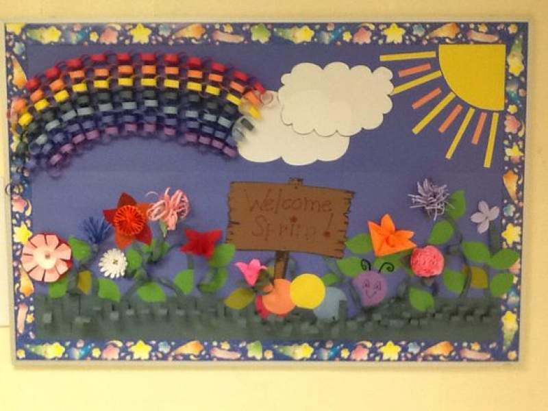 15 March Bulletin Board Ideas For Spring Classroom Decoration Hike