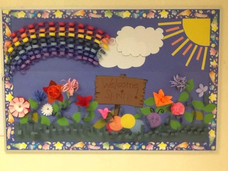 15 March Bulletin Board Ideas For Spring Classroom