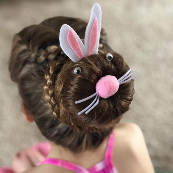 25 Cute Easter Hairstyles For Kids Which Are Insanely Easy