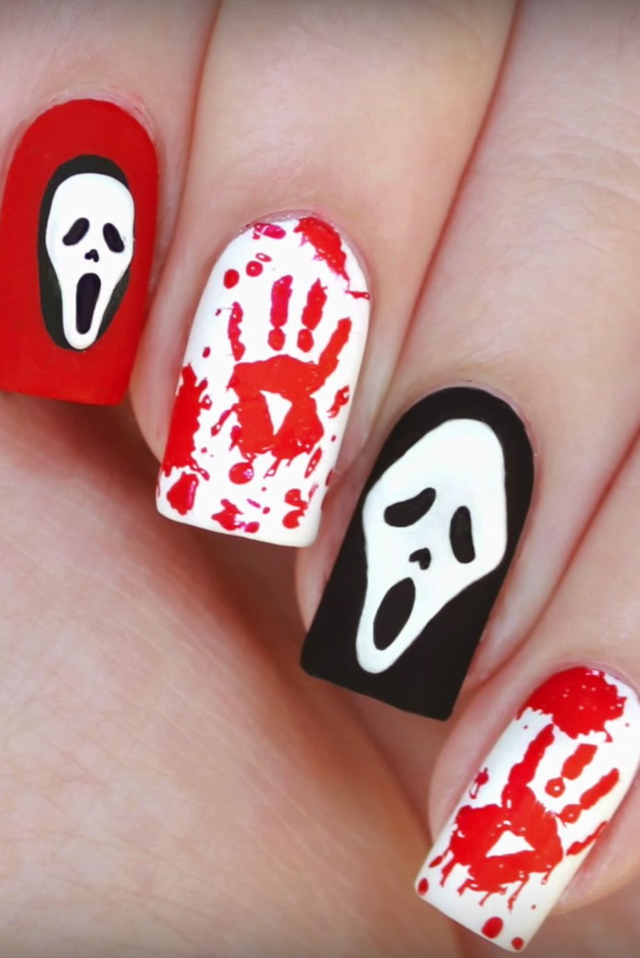 90+ DIY Halloween Nail Art Ideas to get that spooky affair ...