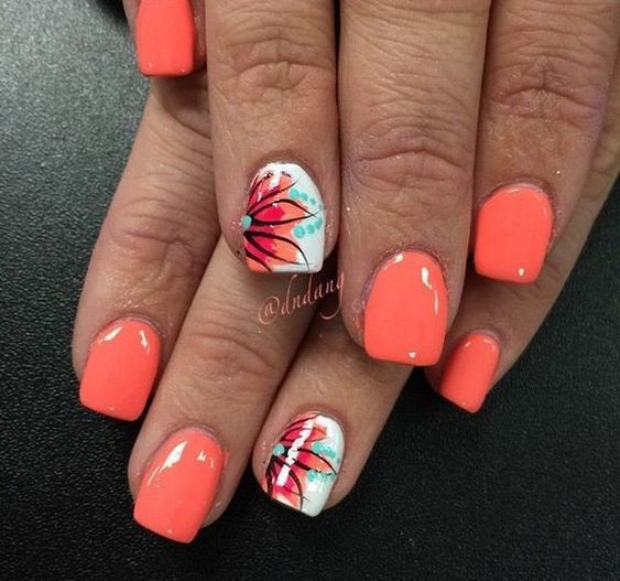 60+ Summer Nail Art 2019 Ideas to give you that invincible