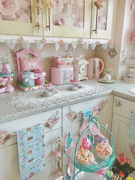 20 Shabby Chic Kitchen Decor Ideas For 2020 Hike N Dip