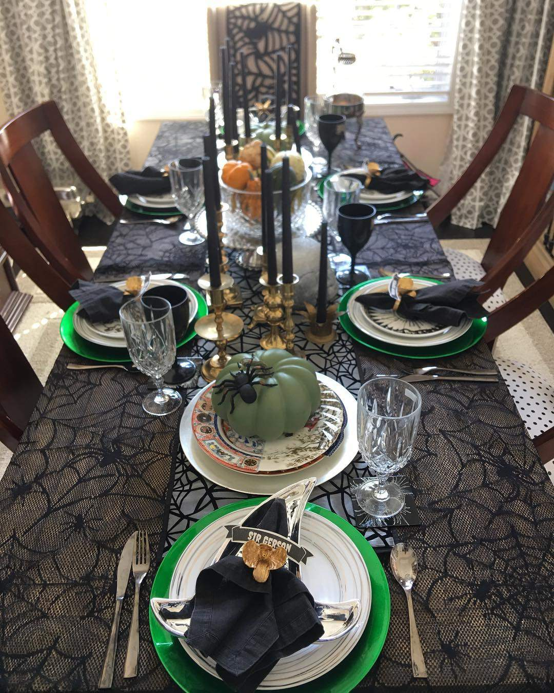 Boo tiful Halloween Table decoration Ideas and Inspirations