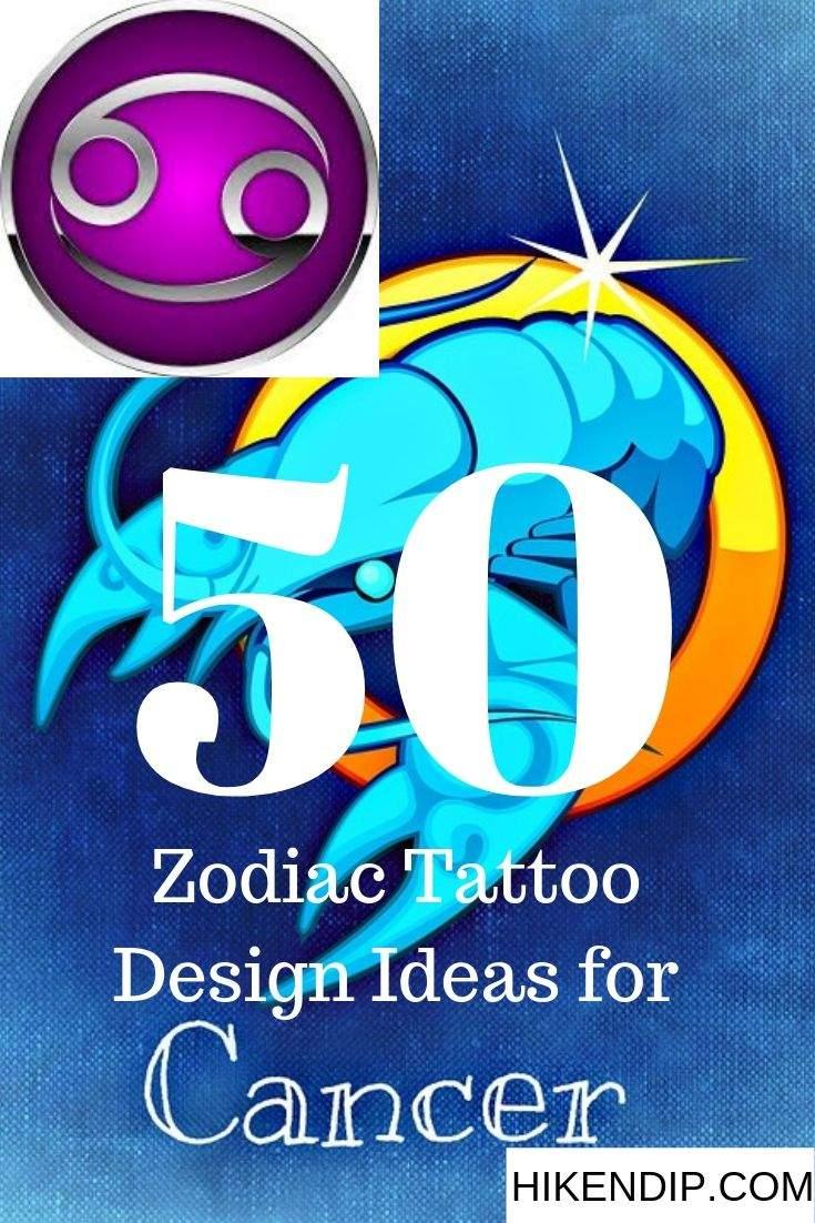 Cancer Zodiac tattoo ideas