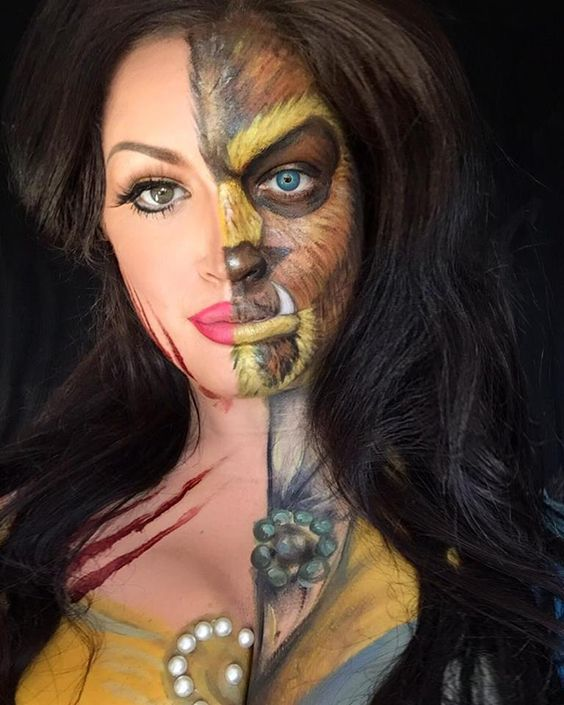 Halloween Makeup Ideas 2019 Scary.100 Halloween Makeup Ideas Which Are Scary Spooky