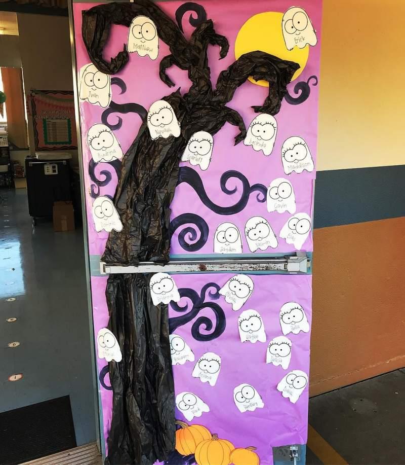 """17/"""" Witch Hat w// Legs Halloween Wall Door Decor /""""Come In My Pretties/"""""""