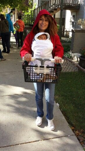 Halloween Costumes For Parents Wearing Baby Carriers On All