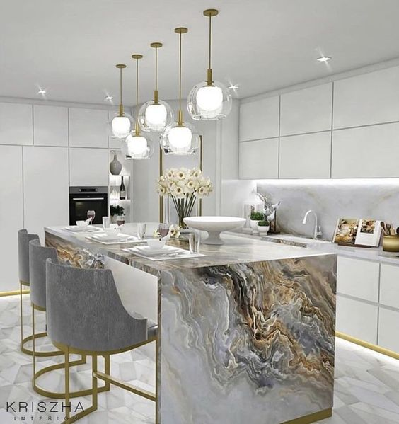 28 Antique White Kitchen Cabinets Ideas In 2019: 30 Kitchen Island Ideas To Add That Perfect Blend Of Drama