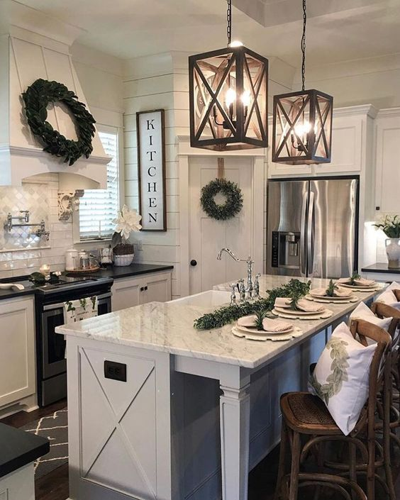 23 Best Cottage Kitchen Decorating Ideas And Designs For 2020: 30 Farmhouse Kitchen Decor Ideas To Make Your Kitchen Look
