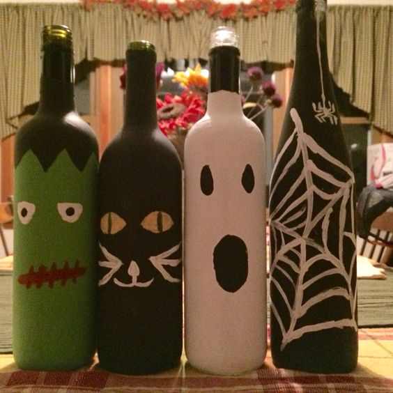 100+ Cheap DIY Dollar Store Halloween Decoration Ideas To