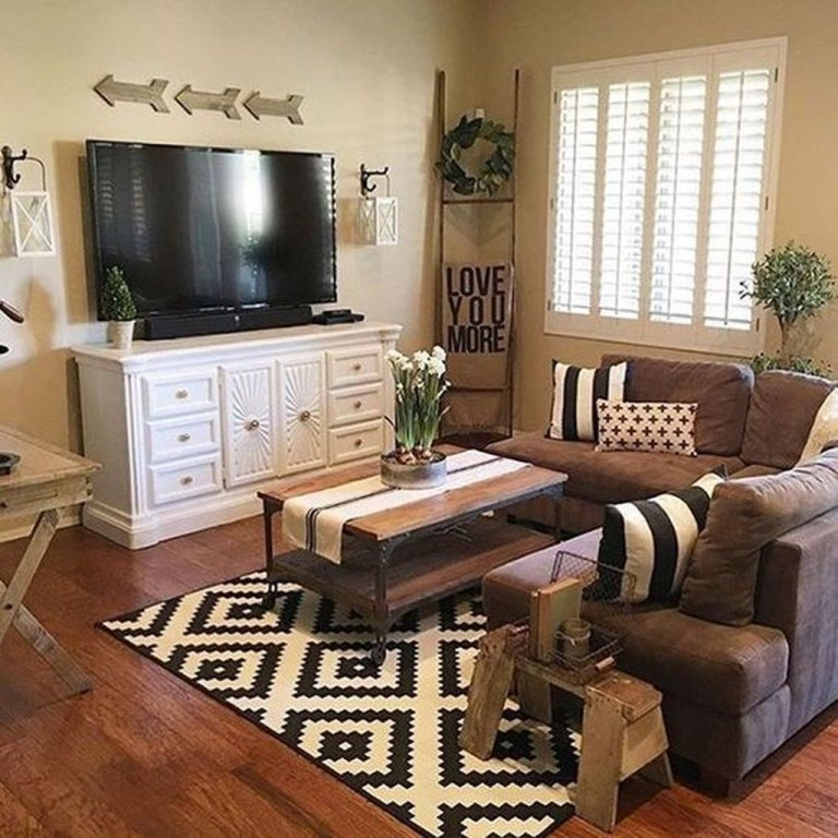 30 Farmhouse Living Room Decor Ideas To Give Your Guests A