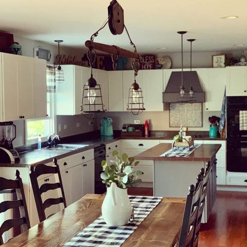 30 Farmhouse Kitchen Decor Ideas To Make Your Kitchen Look