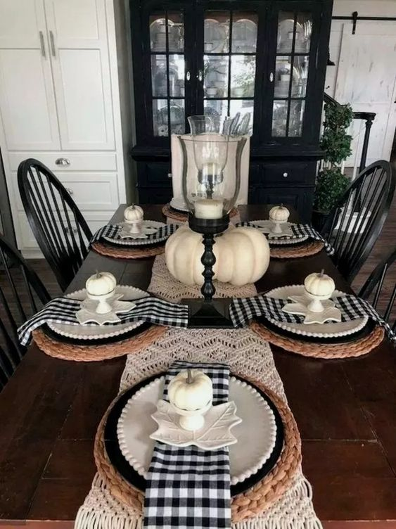 75 Buffalo Plaid Fall Decorations To Make This Chilly