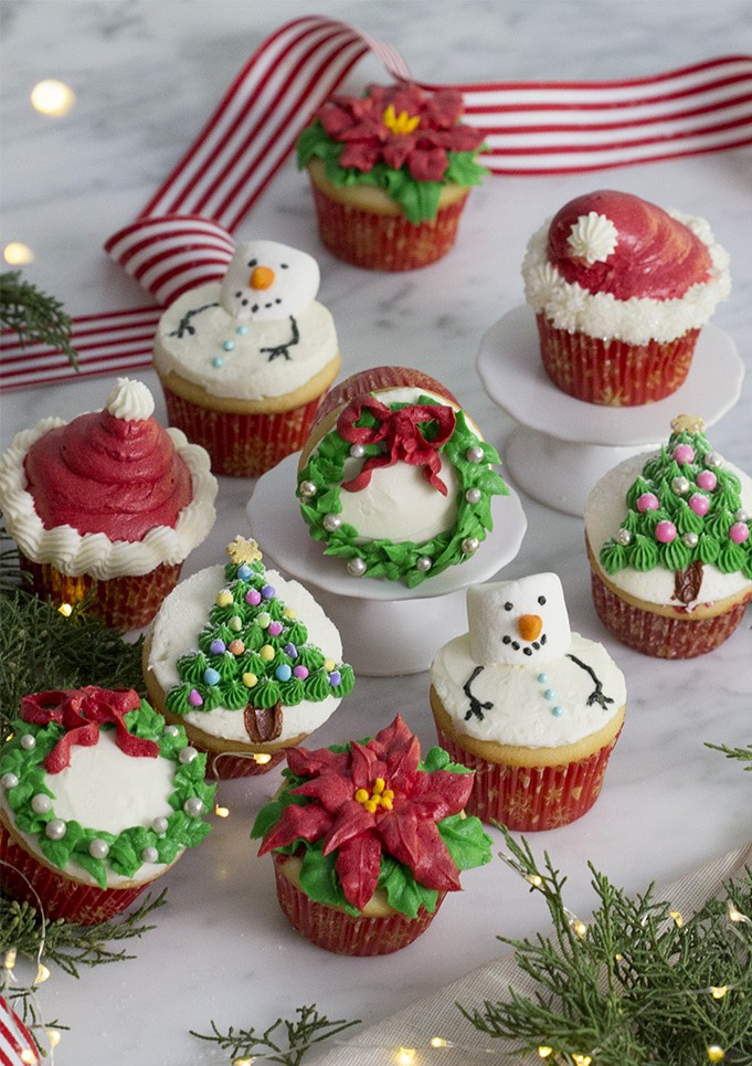 100 Decadent Christmas Cupcakes Recipes Cupcake Decoration Ideas