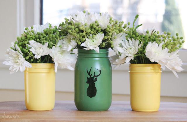 DIY Mason Jar Christmas Decor Ideas