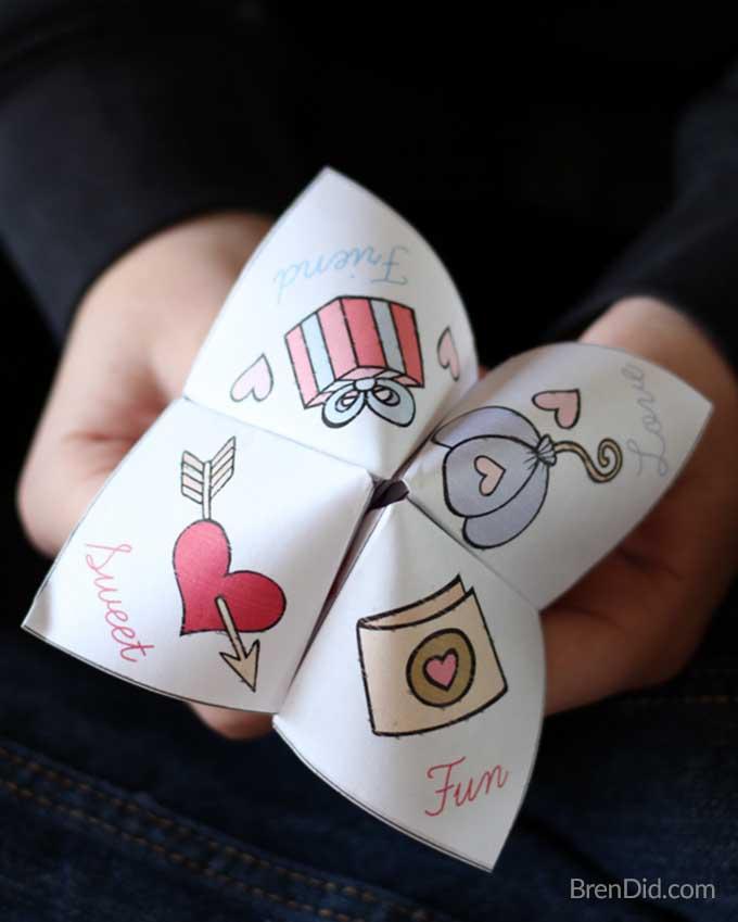 Valentijnsdag ambachten