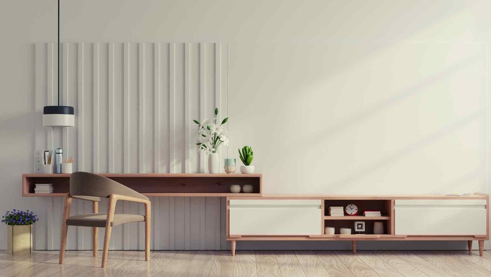 Tendências de design de interiores minimalistas